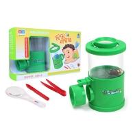 儿童昆虫放大杯放大镜科技小制作小发明小学生科教实验玩具