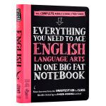 【中商原版】美国中学生优等生笔记 获得A的方法 英语语言艺术 英文原版 Everything You Need to