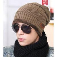 男士帽子韩版潮毛线帽加厚针织帽街头套头帽包头帽韩国棉帽