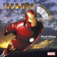 钢铁侠英文原版 书 CD 儿童有声读物 Iron Man Read-Along Storybook and CD 《钢铁侠》朗读书 CD