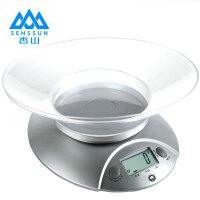 香山EK3550电子称厨房秤茶叶秤食品秤中药称烘焙早餐称台称特价使用两节七号 精确到1g *5KG