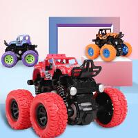 儿童惯性四驱越野车男孩模型车抗耐摔玩具车2-3-4-5岁宝宝小汽车