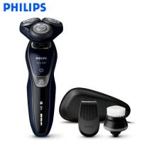 飞利浦(PHILIPS) 电动剃须刀 S5570/43 干湿两用三刀头全身水洗 充电旋转式刮胡刀