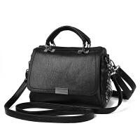 女士包包2018新款手提包单肩包斜挎包软包时尚百搭小包包三种配带