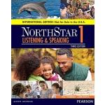 【中商原版】培生北极星系列听说教程学生用书第1级 第3版 英文原版 NorthStar Listening and S