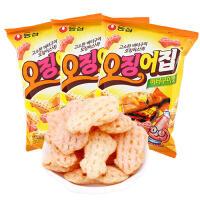 【包邮】韩国进口 农心鱿鱼形膨化虾条 83g*3袋