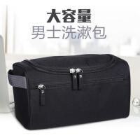 旅行便携式多功能商务出差家居日用大容量简约男士洗漱包旅游女防水收纳用品袋