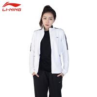 李宁 LI-NING 羽毛球服男女款运动外套春季新款季无帽开衫透气速干新款卫衣