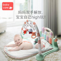 婴儿健身架脚踏钢琴0-3-6个月新生宝宝益智音乐玩具0-1岁