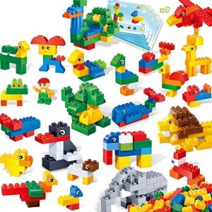 【当当自营】【当当自营】邦宝益智拼装积木塑料212大颗粒拼插玩具3岁儿童动物认知6501