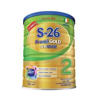 【澳门直购】港版惠氏Wyeth新升级S-26金装健儿乐2段较大婴儿配方奶粉900g