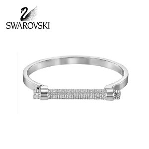 SWAROVSKI/施华洛世奇 新款闪亮Friend马蹄女手镯品 银色S号 5255657