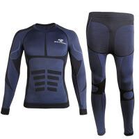 摩托自行车赛车骑行服男夏季速干衣裤子套装内衣长袖
