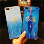 免邮 iphone玻璃壳 手机壳 旺财狗 招财猫 iPhone X 7 8 iphone6 6S plus 全包保护套 保护壳