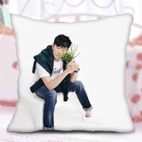 林俊杰抱枕 diy双面定制作私人印真人照片来图定做人形学生靠枕头