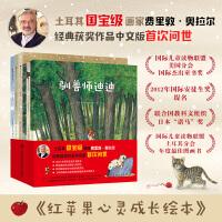 红苹果心灵成长绘本(驯兽师迪迪+点点鼠不见了+下雨天+红苹果+蓝莓仙人+没什么不同)(套装6本)