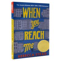 当你到达我英文原版 When You Reach Me 2010年纽伯瑞金奖 科幻悬疑小说