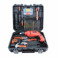 哈博 45件冲击电钻 家用电动工具套装多功能五金礼品组合组套工具箱