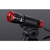 前灯变焦调焦强光手电筒装备炫酷系列 自行车前灯LED手电筒Q5
