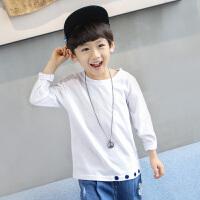 童装男童长袖T恤纯棉春装2018新款 儿童打底衫中大童韩版