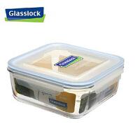 红兔子(HONGTUZI) 韩国进口玻璃微波保鲜盒饭盒 2600ml