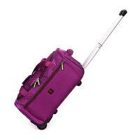 男女士箱包折叠多用途时尚拉杆箱男女式情侣包旅行大包休闲帆布包