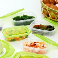日本进口 食物保鲜盒 塑料密封盒 冰箱冷冻收纳盒 2种规格
