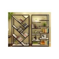 客厅创意铁艺书架书柜搁板置物架层架落地格架精品展示架