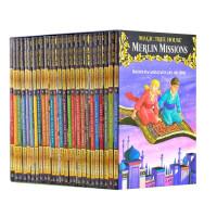 新版 神奇树屋盒装29-53 英文原版Magic Tree House 梅林的任务 章节书 含网盘资源