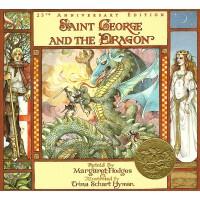 【中商原版】圣乔治和龙 英文原版 Saint George and the Dragon 英国传说 古典文学绘本 19