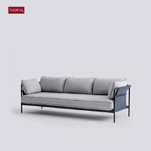 【年终狂欢 限时直降 质保三年】北欧舒适系亲肤沙发W1851 组合沙发转角沙发牛皮沙发羽绒沙发乳胶沙发