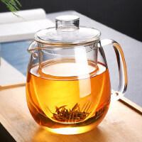 光一玻璃茶壶耐高温加厚泡茶杯红茶具套装家用冲煮茶器过滤单壶烧水壶