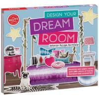 【限量现货】英文原版 趣味玩具书 Create Your Dream Room 设计装点你的房间  未来小设计师 含超过300个零件及工具书教你装扮梦想美屋 礼品书