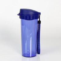 [当当自营]特百惠茶韵随心水杯子500ml塑料防漏便携运动茶杯东京蓝