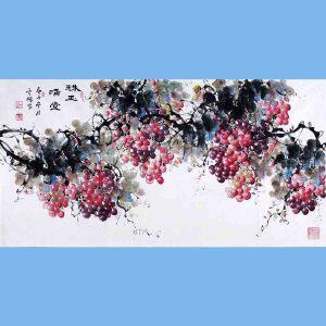 中国青年美术家协会常务理事,中国山水画院专业画家,山东省美术家协会会员,国家一级美术师高云鹏(珠玉满堂)10