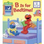 英文原版 芝麻街:睡觉时间翻翻书 B is for Bedtime! (Sesame Street)