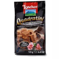 【春播】奥地利莱家黑巧克力味粒粒装威化饼干125g