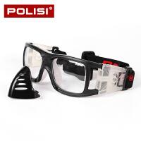 户外篮球眼镜框踢 足球眼镜护目镜运动眼镜近视男