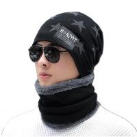 帽子男冬天潮韩版针织毛线帽加厚秋冬季男士时尚保暖防风青年棉帽