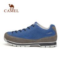camel骆驼户外情侣款徒步鞋 男女款减震透气耐磨鞋
