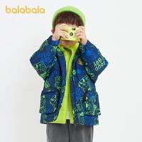 【�_�W季 折后�B券�A估�r:285】巴拉巴拉�和�羽�q服套�b男童冬�b外套新款����童�b�_�h衣�杉�套潮