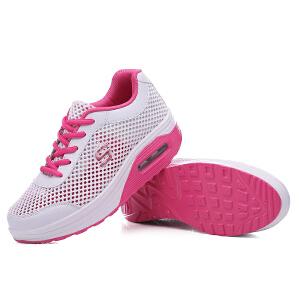 秋季新款网鞋摇摇鞋女鞋气垫运动鞋凉鞋韩版板鞋透气休闲鞋