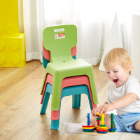 禧天龙家用加厚防滑凳子儿童休闲椅子靠背凳餐椅换鞋凳幼儿园小凳子