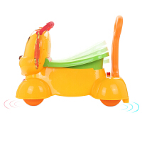 滑行车学步车儿童手推车可坐可骑溜溜车弹跳狗宝宝车1-3岁