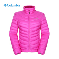 Columbia哥伦比亚户外防泼水女热反射保暖白鹅绒羽绒服外套PL5782