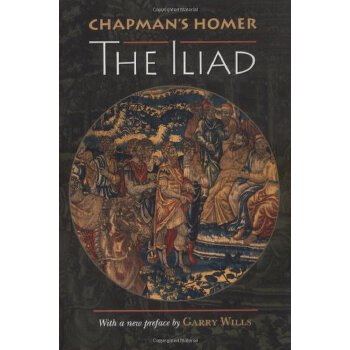 Chapman's Homer: The Iliad [ISBN: 978-0691002361] 美国发货无法退货,约五到八周到货