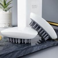 抓头神器 洗头神器按摩刷懒人洗头刷刷子洗发梳子器洗头抓头器祛头屑L 2个装鼠标款