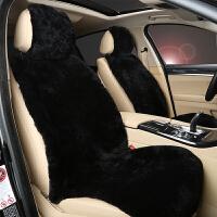 新品冬季羊毛汽车坐垫皮毛一体短毛剪绒四季通用可爱女带靠背