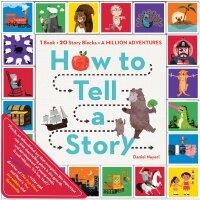 【现货】英文原版亲子互动书How to Tell a Story: 1 Book + 20 Story Blocks