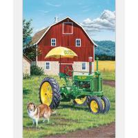 成人1000片木质拼图500儿童进口风景益智玩具礼物 欧式农场